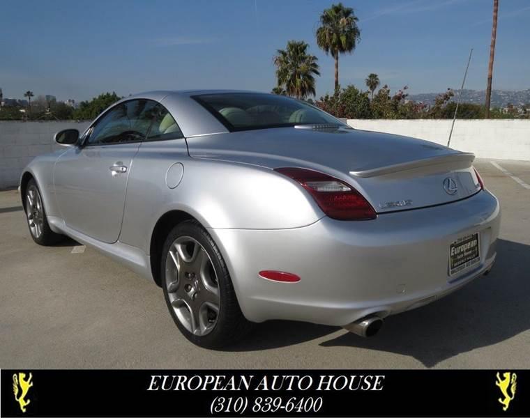 2006 Lexus SC 430 In Los Angeles CA - European Auto House
