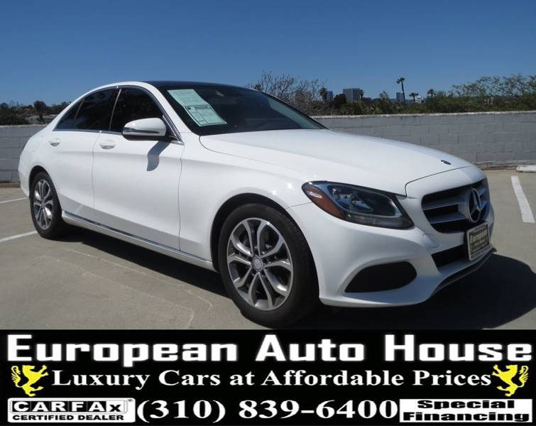 2017 Mercedes Benz C Class For Sale At European Auto House In Los Angeles