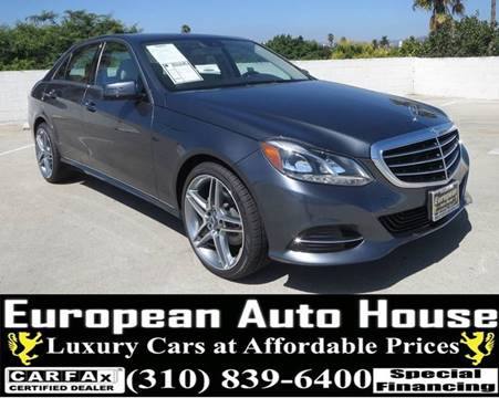 2015 Mercedes Benz E Class For Sale In Los Angeles, CA