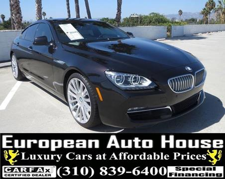 Bmw 6 Series For Sale In Los Angeles Ca European Auto House