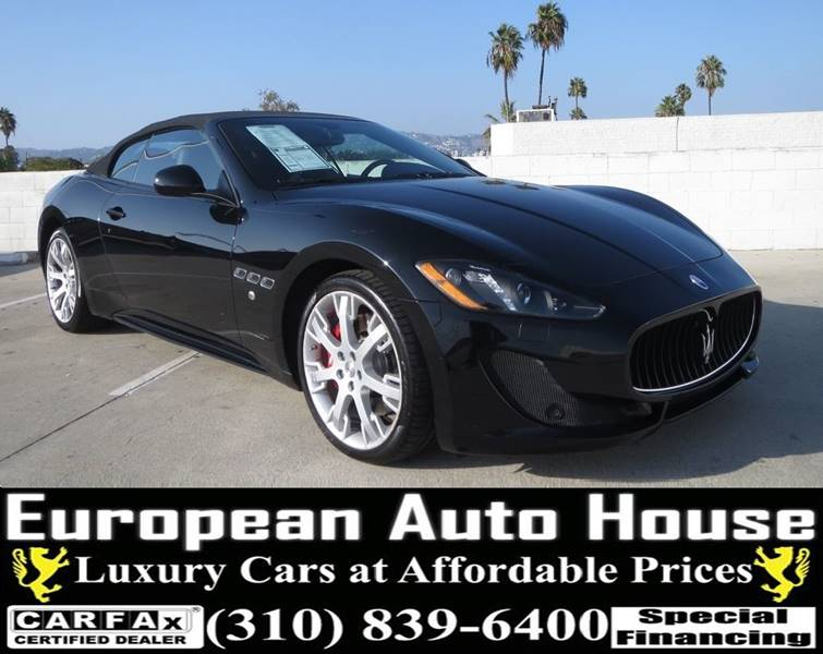 2014 Maserati GranTurismo for sale at European Auto House in Los Angeles CA