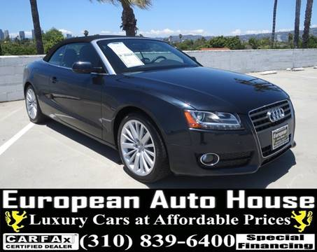 2012 Audi A5 for sale in Los Angeles, CA