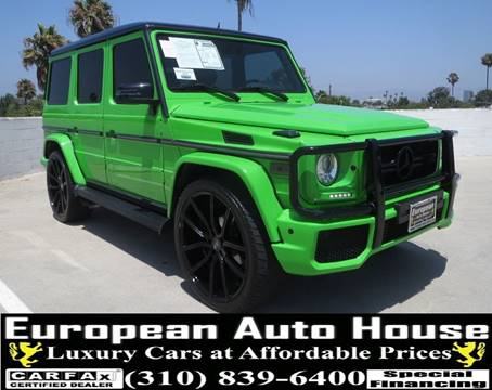 Mercedes Benz Los Angeles >> 2008 Mercedes Benz G Class For Sale In Los Angeles Ca