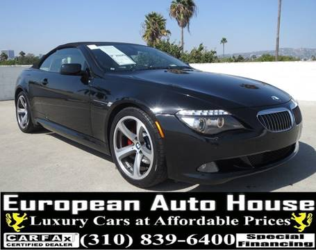 2008 BMW 6 Series for sale in Los Angeles, CA
