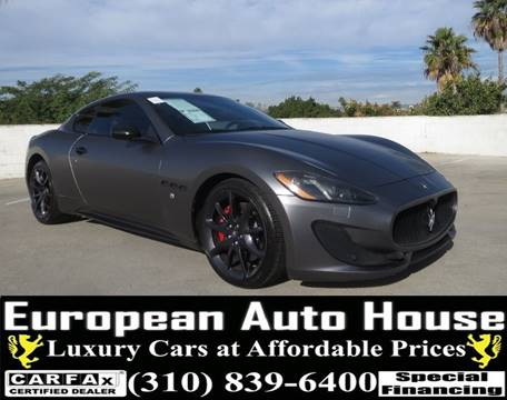 2013 Maserati GranTurismo for sale in Los Angeles, CA