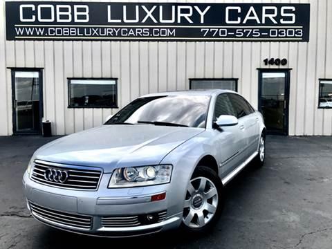 2005 Audi A8 L For Sale In Marietta, GA