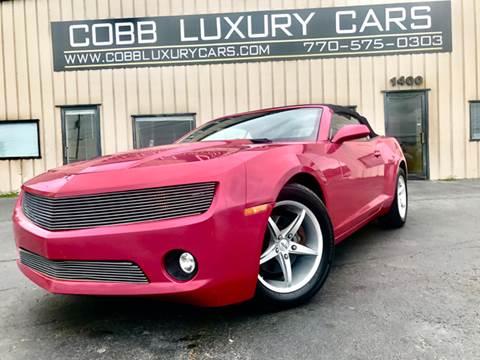 2012 Chevrolet Camaro for sale in Marietta, GA