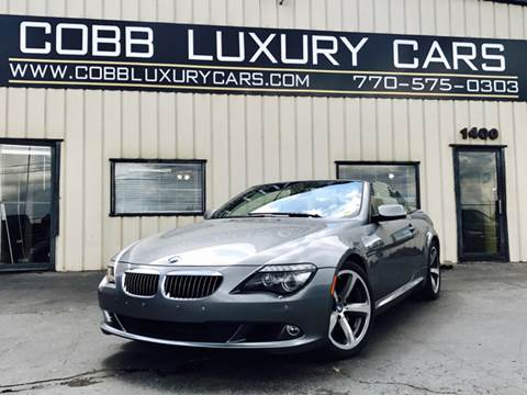 2008 BMW 6 Series for sale in Marietta, GA