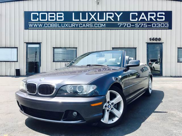 Bmw Series Ci Dr Convertible In Marietta GA EZ Auto - 2006 bmw 325ci convertible