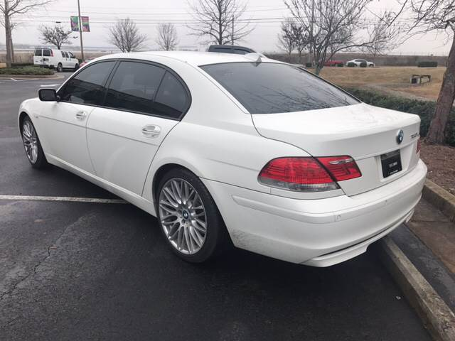 2008 Bmw 7 Series 750Li 4dr Sedan In Marietta GA