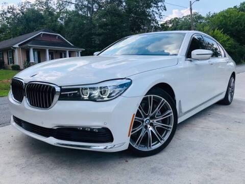 2016 BMW 7 Series for sale at E-Z Auto Finance in Marietta GA