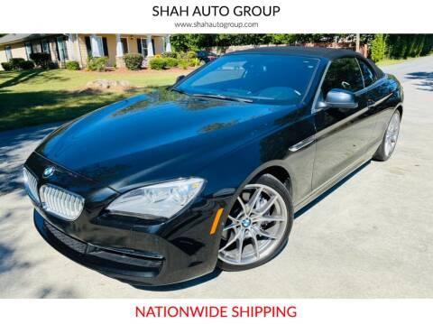 2012 BMW 6 Series for sale at E-Z Auto Finance - E-Biz Auto in Marietta GA