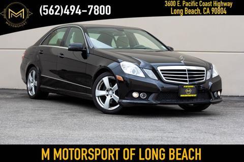 Long Beach Mercedes >> 2010 Mercedes Benz E Class For Sale In Long Beach Ca