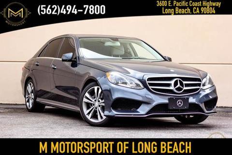 Long Beach Mercedes >> 2014 Mercedes Benz E Class For Sale In Long Beach Ca