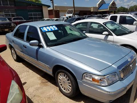 2007 Mercury Grand Marquis for sale in Lubbock, TX