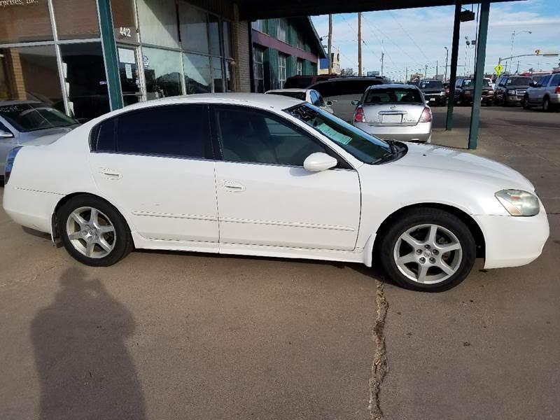 2003 Nissan Altima 3.5 SE 4dr Sedan   Lubbock TX
