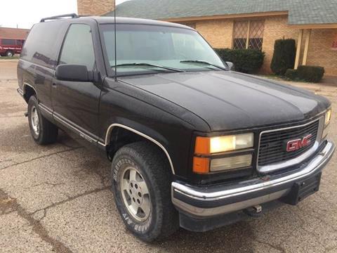 1997 GMC Yukon for sale in Lubbock, TX