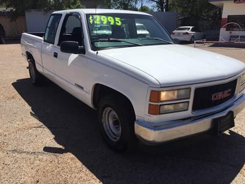 1998 GMC Sierra 1500 for sale in Lubbock, TX