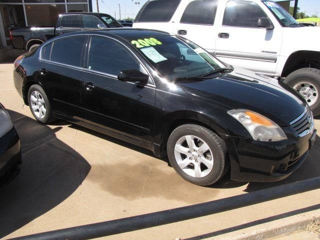 2008 nissan altima 2 5 s 4dr sedan cvt in lubbock tx martin 39 s auto sales. Black Bedroom Furniture Sets. Home Design Ideas