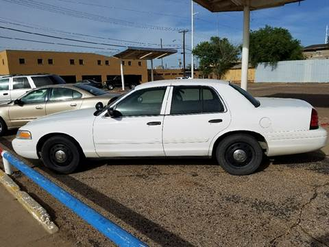 2010 Ford Crown Victoria for sale in Lubbock, TX