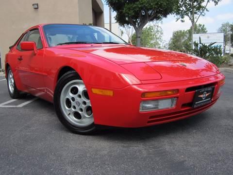 1988 Porsche 944 for sale at ORANGE COUNTY AUTO WHOLESALE in Irvine CA