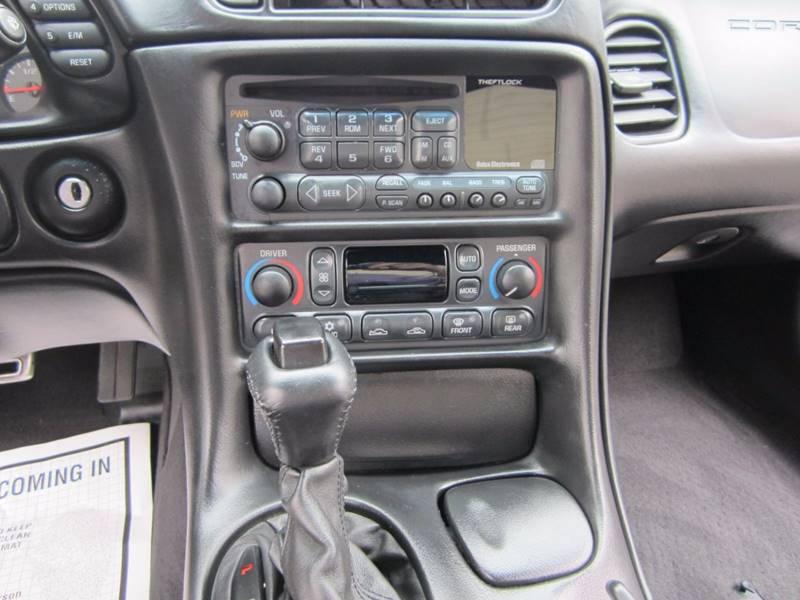 2002 Chevrolet Corvette 2dr Coupe - Irvine CA
