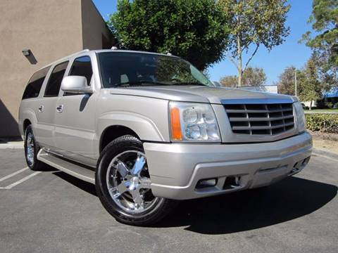 2005 Cadillac Escalade ESV for sale in Irvine, CA