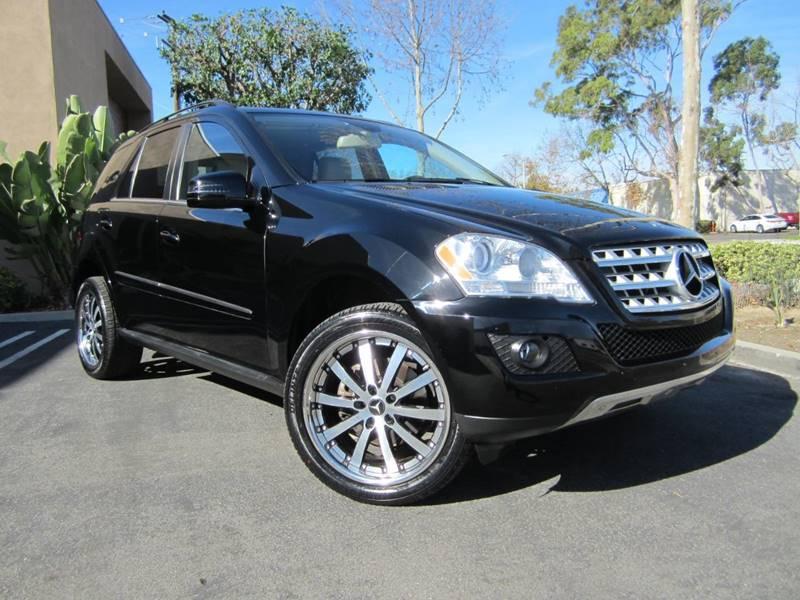 MercedesBenz MClass ML Dr SUV In Irvine CA ORANGE - Mercedes benz dealers in orange county