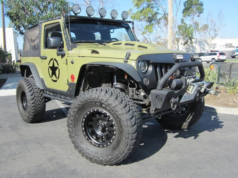 2013 Jeep Wrangler for sale at ORANGE COUNTY AUTO WHOLESALE in Irvine CA