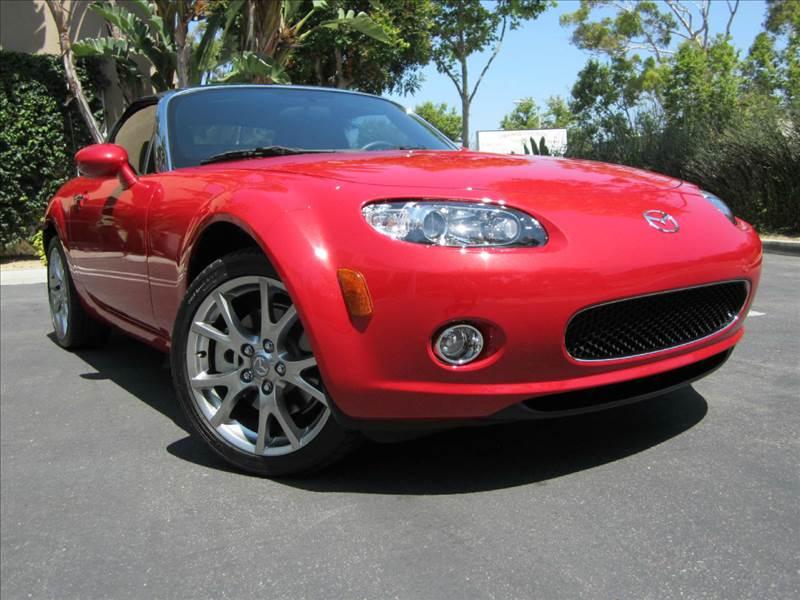 2006 Mazda MX-5 Miata for sale at ORANGE COUNTY AUTO WHOLESALE in Irvine CA