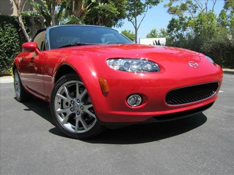 2006 Mazda MX-5 Miata for sale at ORANGE COUNTY AUTO WHOLESALE in Irvine CA