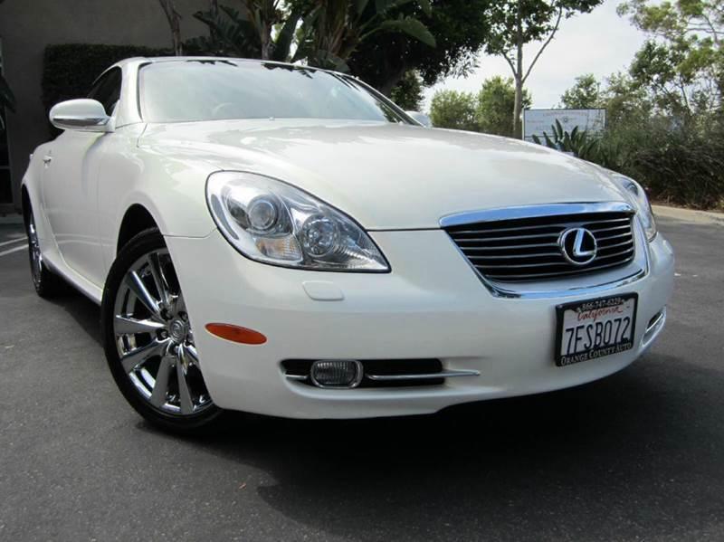 2006 Lexus SC 430 for sale at ORANGE COUNTY AUTO WHOLESALE in Irvine CA