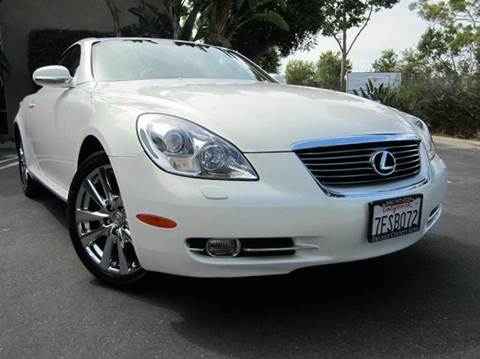 2006 Lexus SC 430 for sale at ORANGE COUNTY AUTO WHOLESALE in Irvine CA