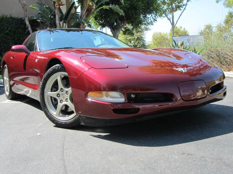 2003 Chevrolet Corvette for sale at ORANGE COUNTY AUTO WHOLESALE in Irvine CA