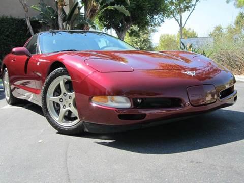 2003 Chevrolet Corvette for sale at ORANGE COUNTY AUTO WHOLESALE in Irvine CA