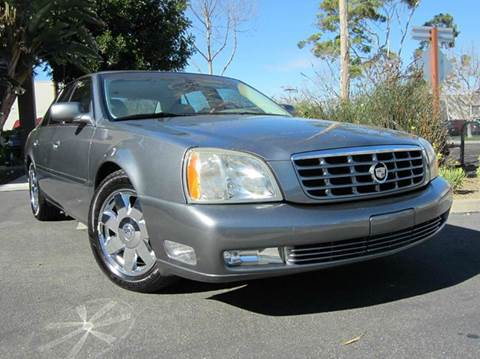 2003 Cadillac DeVille for sale at ORANGE COUNTY AUTO WHOLESALE in Irvine CA