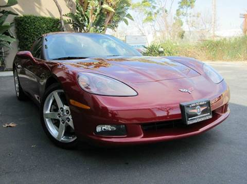 2006 Chevrolet Corvette for sale at ORANGE COUNTY AUTO WHOLESALE in Irvine CA