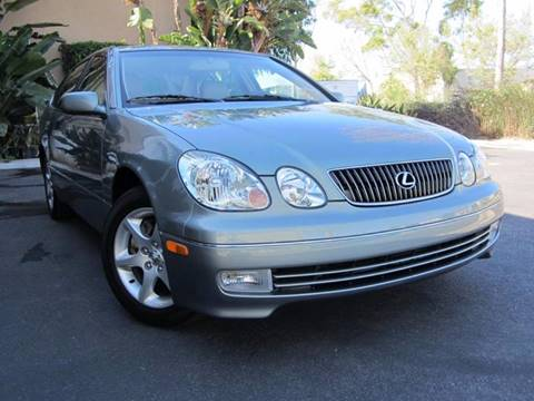 2004 Lexus GS 300 for sale at ORANGE COUNTY AUTO WHOLESALE in Irvine CA