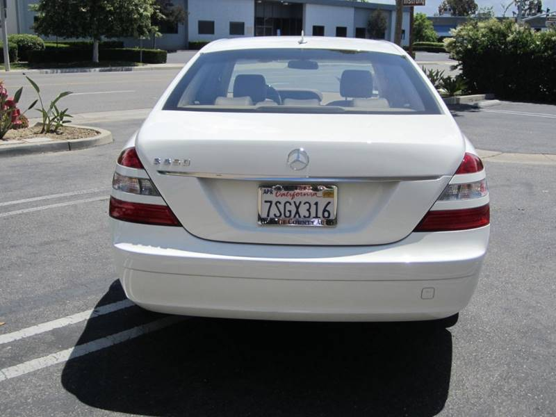 2007 Mercedesbenz Sclass S 550 4dr Sedan In Irvine Ca Orange Rhorangecountyautowholesale: Date May 2007 Location Orange County Ca Vehicle At Gmaili.net