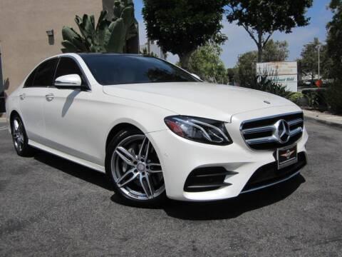 2017 Mercedes-Benz E-Class for sale at ORANGE COUNTY AUTO WHOLESALE in Irvine CA