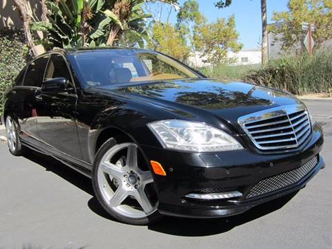 2012 Mercedes-Benz S-Class for sale at ORANGE COUNTY AUTO WHOLESALE in Irvine CA