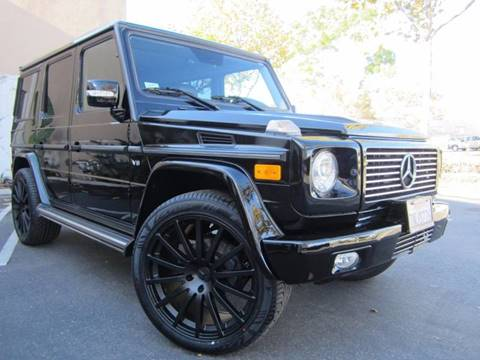 2008 Mercedes-Benz G-Class for sale at ORANGE COUNTY AUTO WHOLESALE in Irvine CA