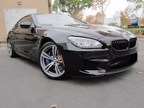 2013 BMW M6 for sale at ORANGE COUNTY AUTO WHOLESALE in Irvine CA
