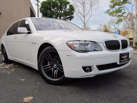 2006 BMW 7 Series for sale at ORANGE COUNTY AUTO WHOLESALE in Irvine CA