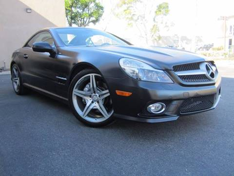 2011 Mercedes-Benz SL-Class for sale at ORANGE COUNTY AUTO WHOLESALE in Irvine CA