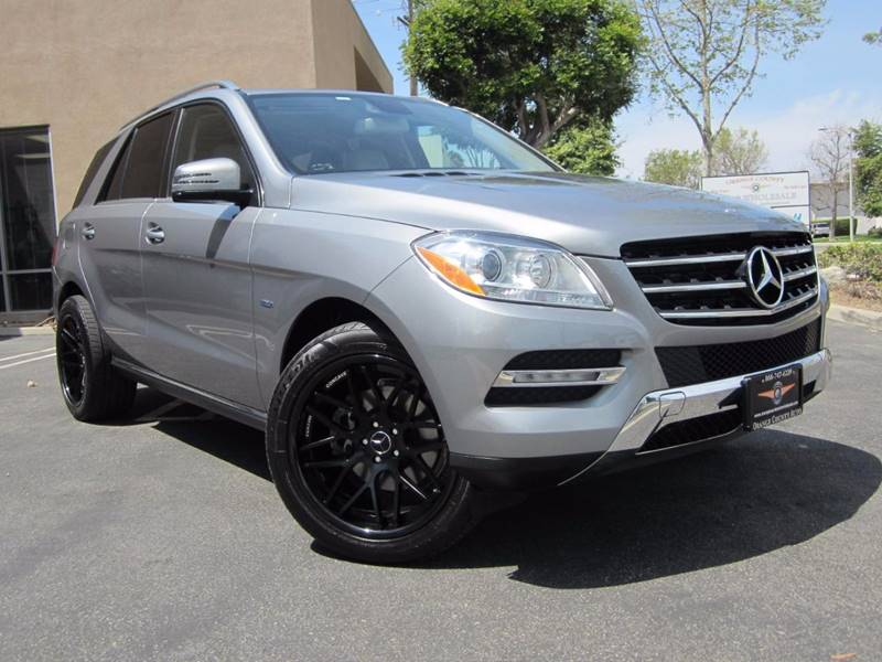 2012 Mercedes-Benz M-Class AWD ML 350 BlueTEC 4MATIC 4dr SUV - Irvine CA