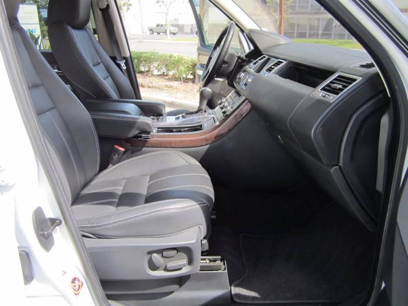 2012 Land Rover Range Rover Sport 4x4 HSE LUX 4dr SUV - Irvine CA