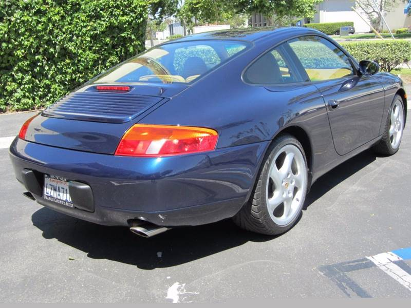 1999 Porsche 911 Carrera 2dr Coupe - Irvine CA