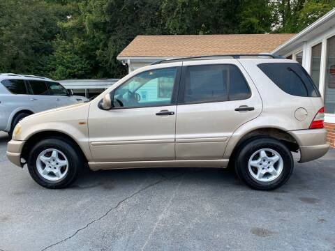 2001 Mercedes-Benz M-Class for sale at Simple Auto Solutions LLC in Greensboro NC