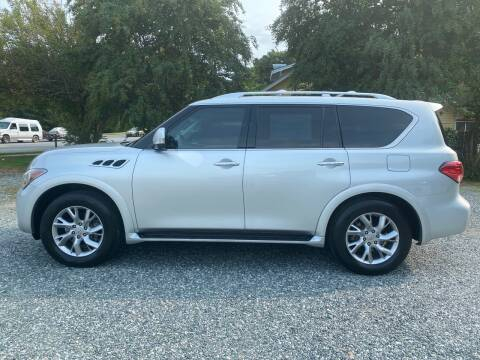 2012 Infiniti QX56 for sale at Simple Auto Solutions LLC in Greensboro NC